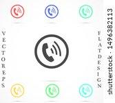 symbol of phone call icon....