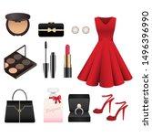 Fashion Women Dress Accessories ...