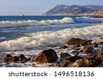 Beautiful Scenic Seascape Of...