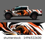 car wrap  decal  vinyl sticker... | Shutterstock .eps vector #1496522630
