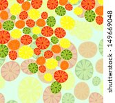 abstraction of citrus | Shutterstock .eps vector #149669048