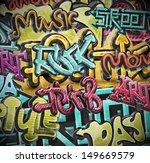 graffiti grunge background. eps ...