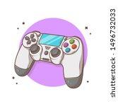 Joystick Game Console Vector...
