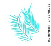 abstract illustration. bamboo...   Shutterstock .eps vector #1496786786