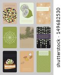 vertical business cards   Shutterstock .eps vector #149682530