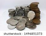 rupiah coins  indonesia  100 ...   Shutterstock . vector #1496851373