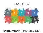 navigation cartoon template...