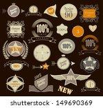 set of retro vintage labels....   Shutterstock .eps vector #149690369