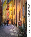 An Ancient Old Street In The...