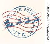 North Pole Air Mail. Santa...