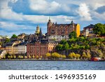 View Of Stockholm Sweden In...