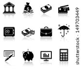 banking icons | Shutterstock .eps vector #149703449