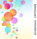 Abstract Vector Bubble Baloon...