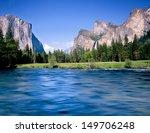 Yosemite Valley View And Merce...