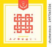 traditional geometric oriental... | Shutterstock .eps vector #1497065336