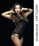 young striptease dancer | Shutterstock . vector #149712344