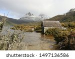 Dove Lake With Boat Shed At...