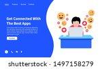 vector illustration set of...   Shutterstock .eps vector #1497158279