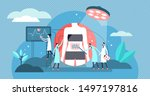 surgery vector illustration....   Shutterstock .eps vector #1497197816
