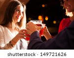friends having a round of... | Shutterstock . vector #149721626