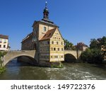 old city hall in bamberg germany | Shutterstock . vector #149722376