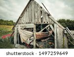 Abandoned Boat Shed  Northern...