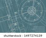 engineering. mechanical... | Shutterstock .eps vector #1497274139