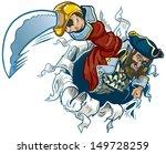 vector cartoon clip art... | Shutterstock .eps vector #149728259