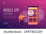 mobile app. advertisement....
