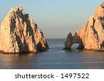 land's end  rock formation in... | Shutterstock . vector #1497522