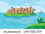 Indian Maharastra Fort In Sea...
