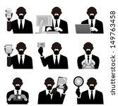 business man | Shutterstock .eps vector #149763458