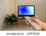 tv remote control and blurred... | Shutterstock . vector #1497650