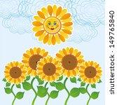 Floral Pattern Background...