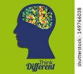 think different design over...   Shutterstock .eps vector #149766038