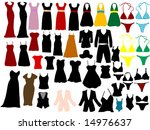 fashion clothes | Shutterstock .eps vector #14976637