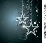 christmas background. vector... | Shutterstock .eps vector #149770538