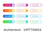 set of modern action button for ... | Shutterstock .eps vector #1497746816
