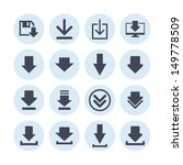 download icon | Shutterstock .eps vector #149778509