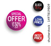 special offer   best price ... | Shutterstock .eps vector #1497819809