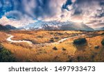 Panoramic Landscape With...