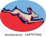 illustration of rabbit hare...   Shutterstock .eps vector #149797940