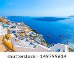 view to the sea and volcano... | Shutterstock . vector #149799614