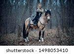 Viking Warrior Female Ridding ...