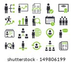 human resource icons   Shutterstock .eps vector #149806199