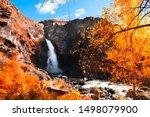 Kurkure Waterfall With Yellow...