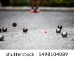 Petanque Ball Boules And Small...