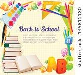 back to school. vector. | Shutterstock .eps vector #149815130
