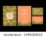 invitation to the wedding  a... | Shutterstock .eps vector #1498183010