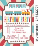 party train card | Shutterstock .eps vector #149822774